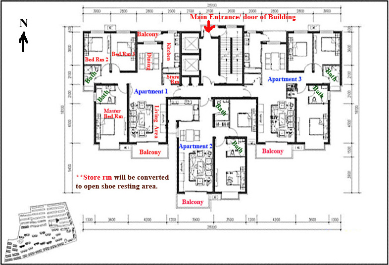 North facing apartment latest bestapartment 2018 for Floor plan assistance