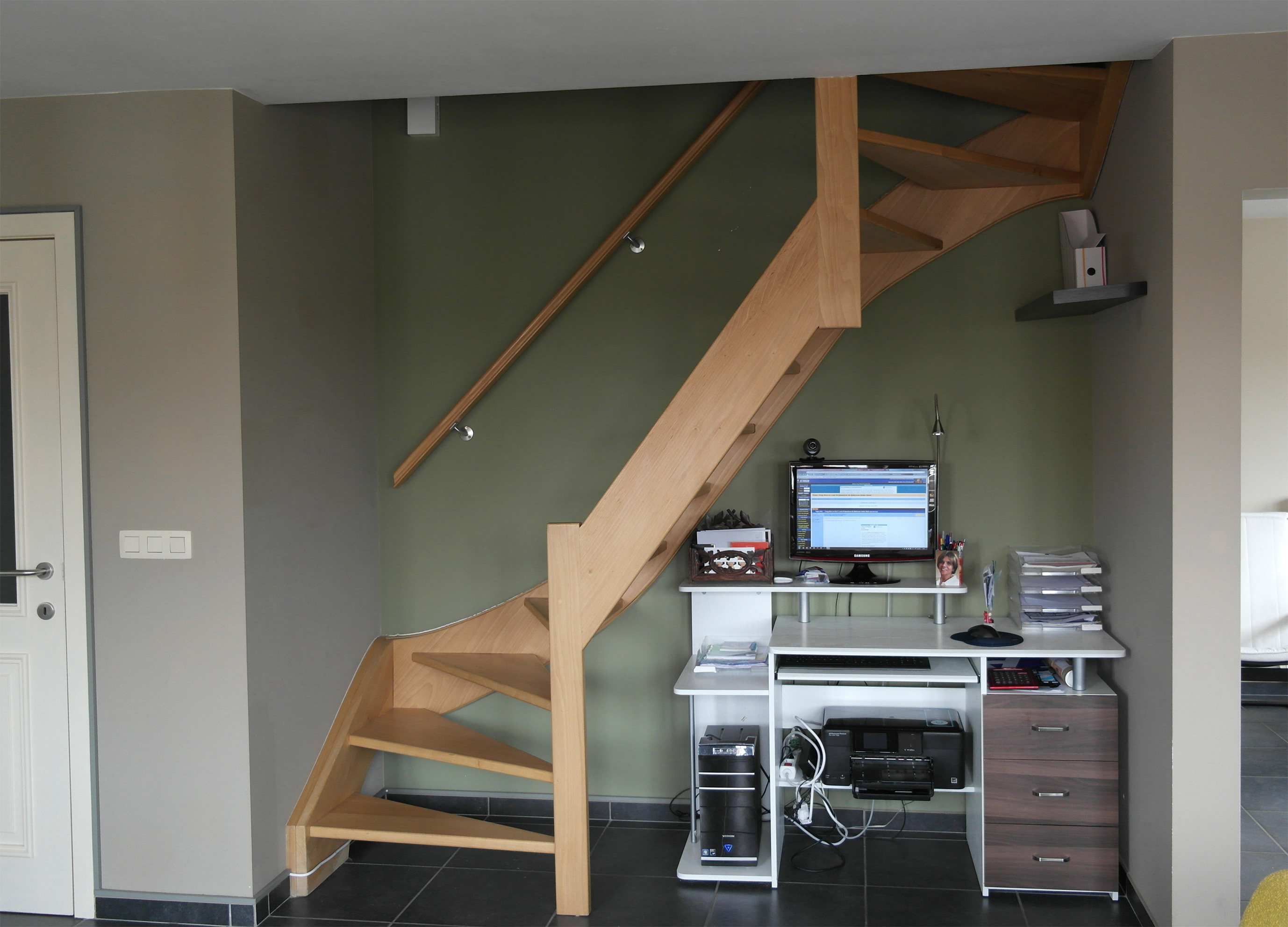 Desk Under Stairs desk under stairs - feng shui tips & guidelines - fengshui