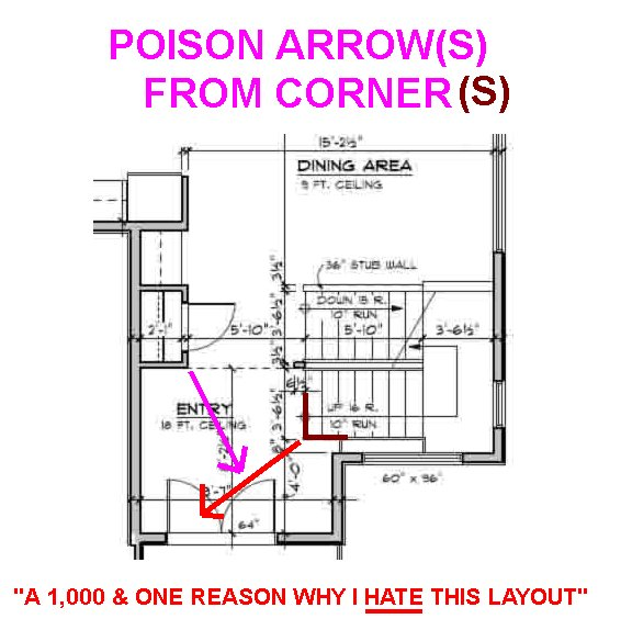 Location Of Stairs For 2 Storey Home General Help