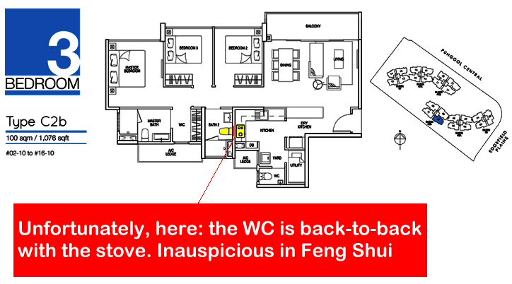 feng shui waterbay ec at punggol central singapore property review fengshui geomancy net. Black Bedroom Furniture Sets. Home Design Ideas