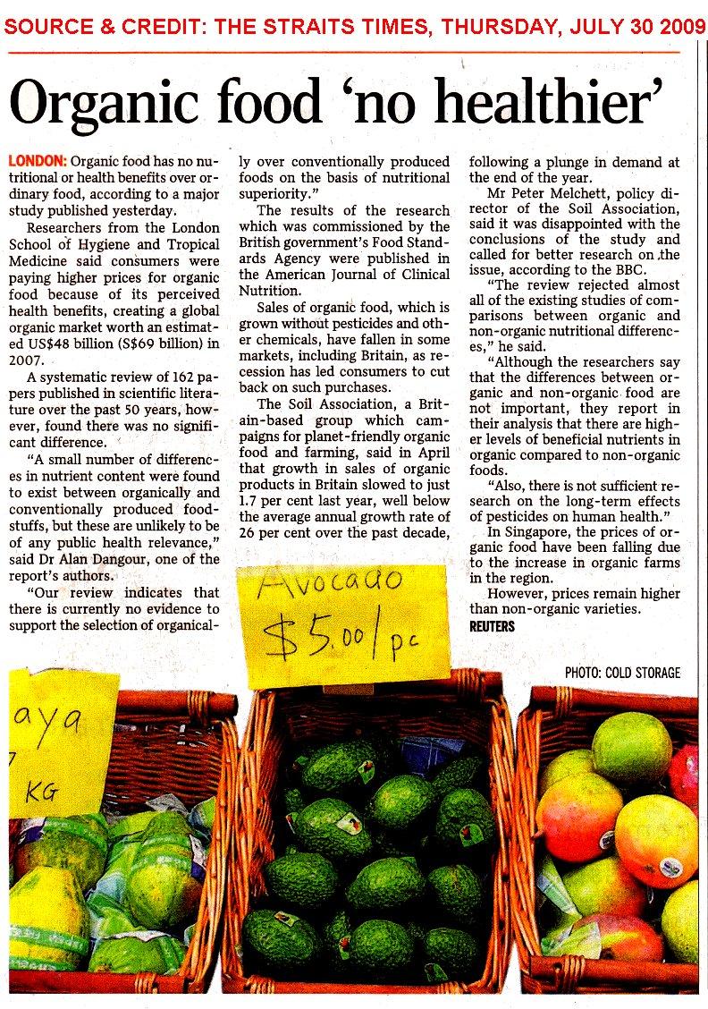 Organic Food Regulations