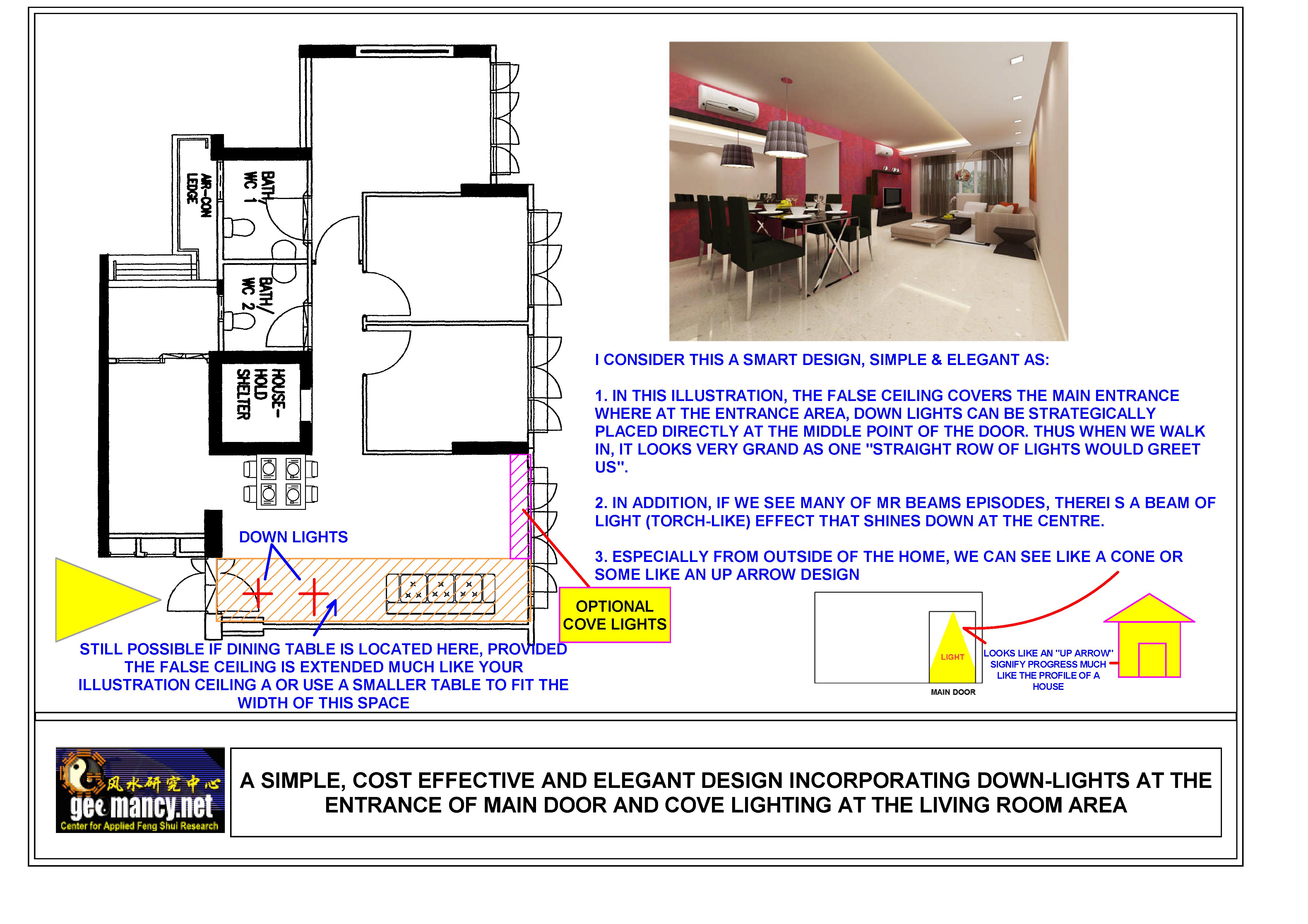 False Ceiling layout - Feng Shui Tips & Guidelines - FengShui ...