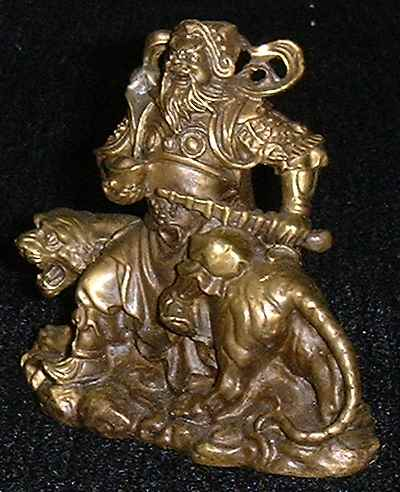 God of Wealth figurine (Side view 2)