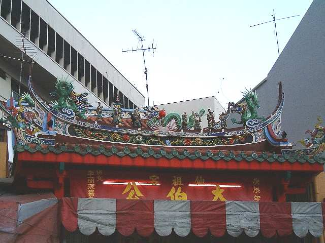 Temple roof (2nd Close up view)